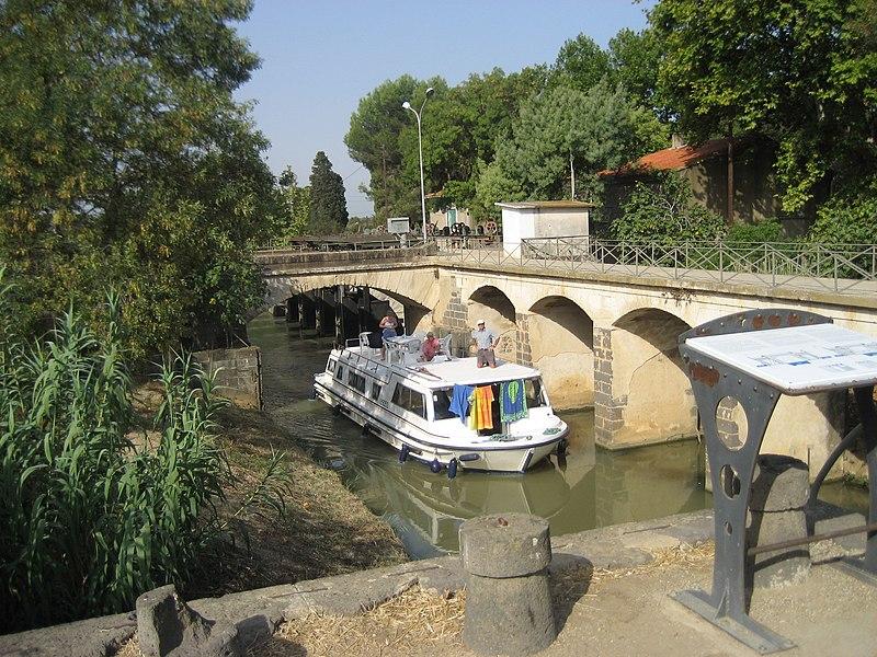 Photo du Monument Historique Canal du Midi situé à Vias