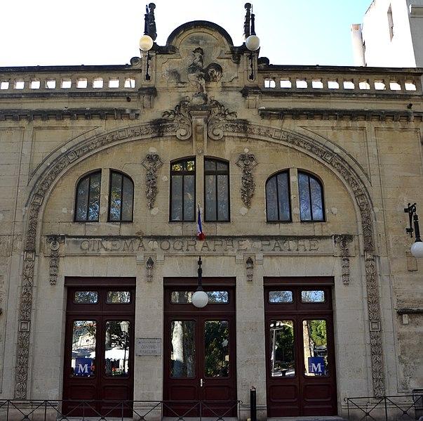 Photo du Monument Historique Ancien cinéma Pathé situé à Montpellier