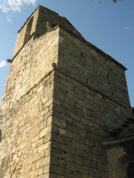 Photo du Monument Historique Eglise paroissiale Saint-André de Valquières situé à Dio-et-Valquières