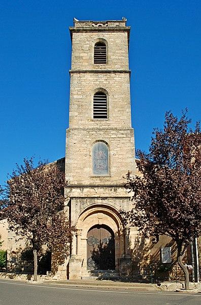 Photo du Monument Historique Eglise paroissiale Saint-Martin situé à Alignan-du-Vent