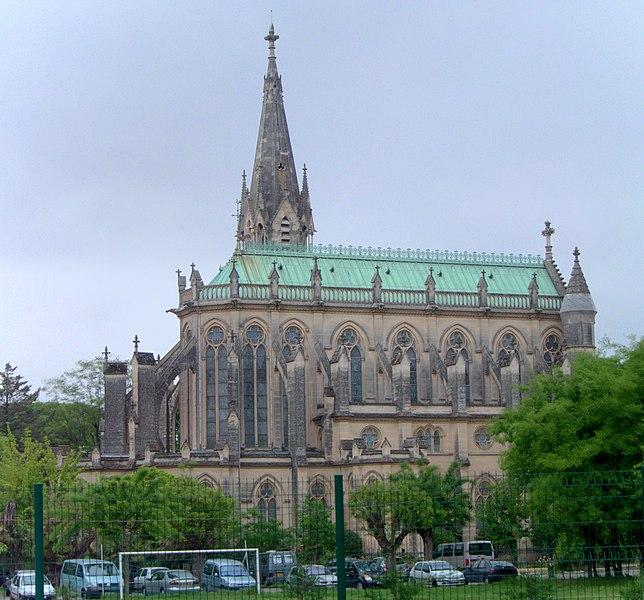 Photo du Monument Historique Eglise Saint-François de la Pierre-Rouge, de l'enclos Saint-François situé à Montpellier