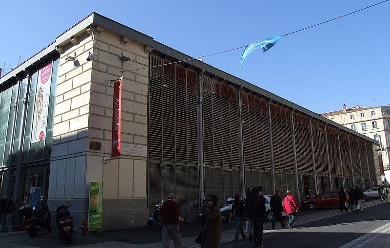 Photo du Monument Historique Halle Castellane situé à Montpellier