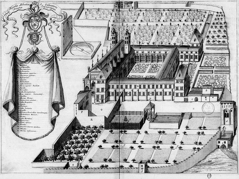 Photo du Monument Historique Ancienne abbaye bénédictine Saint-Benoît et l'ancien pénitencier (ancien établissement d'éducation surveillée) situé à Aniane