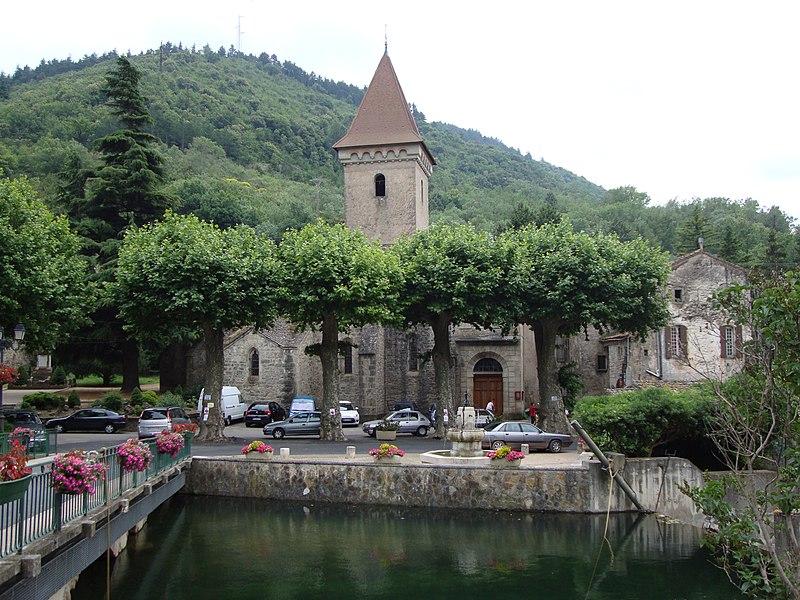 Photo du Monument Historique Eglise Saint-Pancrace situé à Lunas
