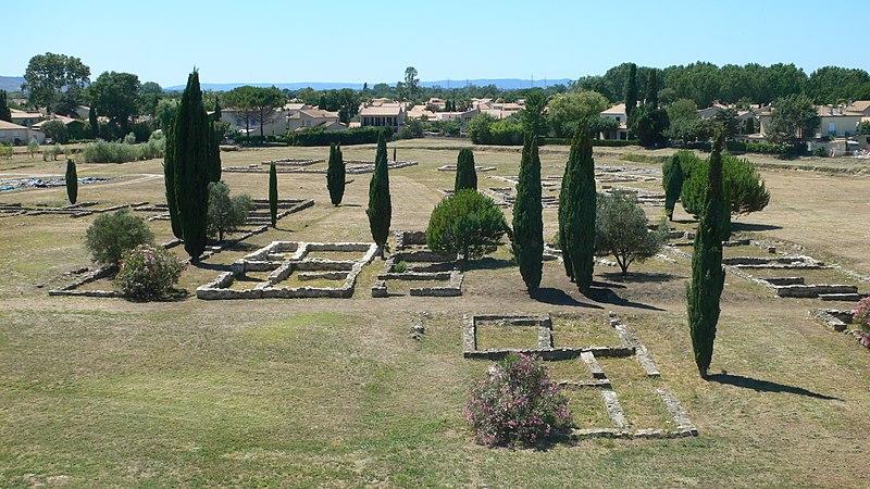 Photo du Monument Historique Site archéologique de Lattara situé à Lattes