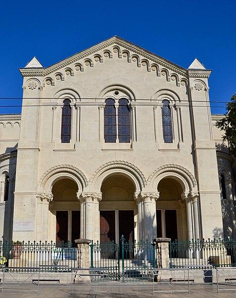 Photo du Monument Historique Temple de l'église réformée situé à Montpellier