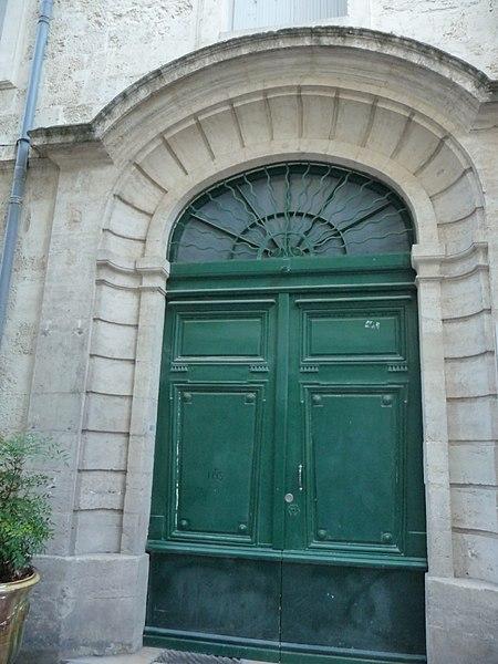 Photo du Monument Historique Ancienne maison de la Miséricorde et bureau de bienfaisance situé à Montpellier