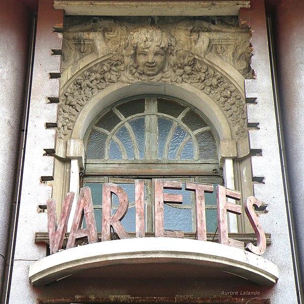 Photo du Monument Historique Théâtre des Variétés situé à Béziers