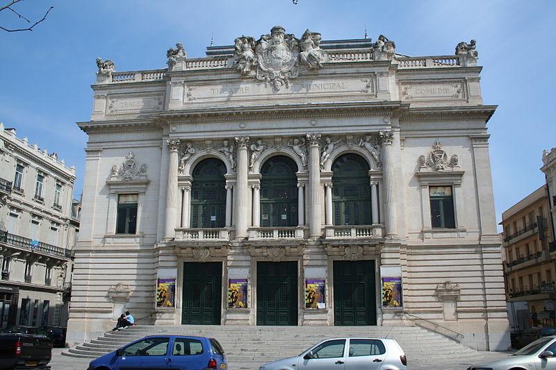 Photo du Monument Historique Théâtre municipal Molière situé à Sète