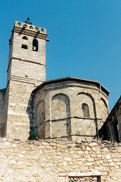 Photo du Monument Historique Eglise paroissiale Sainte-Marie et Saint-Pons situé à Saint-Pons-de-Mauchiens