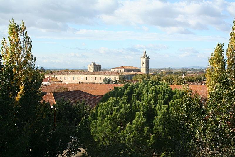 Photo du Monument Historique Ancienne abbaye royale de Saint-Thibéry situé à Saint-Thibéry