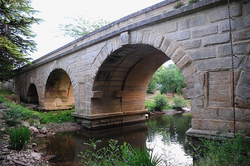 Photo du Monument Historique Pont romain situé à Boisseron