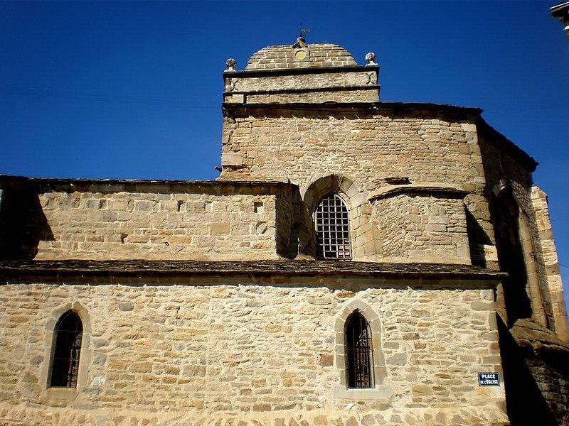 Photo du Monument Historique Eglise paroissiale Saint-Etienne situé à La Livinière