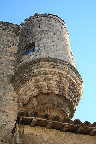 Photo du Monument Historique Ancien château Montlaur situé à Poussan
