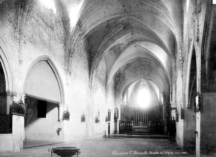 Photo du Monument Historique Ancienne chapelle du couvent des Récollets, chapelle de l'hôpital situé à Clermont-l'Hérault