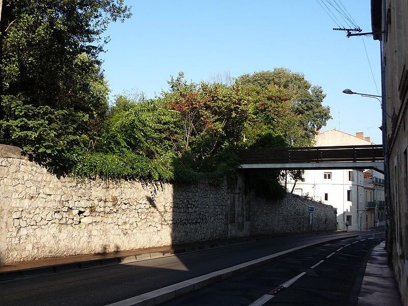 Photo du Monument Historique Jardin de la Reine et bâtiments de l'ancien Rectorat, ancienne Intendance du Jardin des Plantes situé à Montpellier