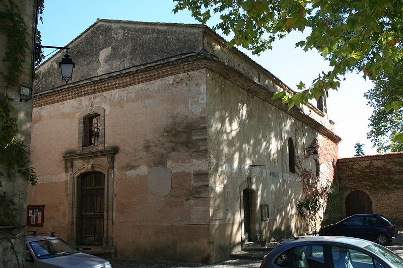 Photo du Monument Historique Eglise paroissiale Notre-Dame de l'Assomption situé à Villeneuvette