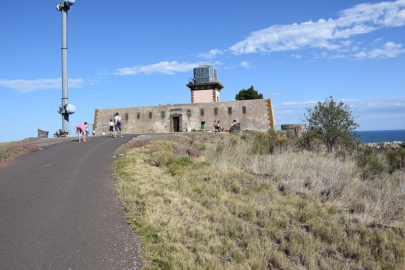 Photo du Monument Historique Ancien phare du Mont-Saint-Loup situé à Agde