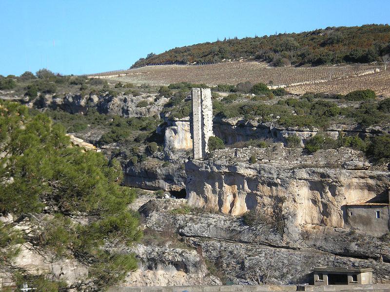 Photo du Monument Historique Citadelle situé à Minerve