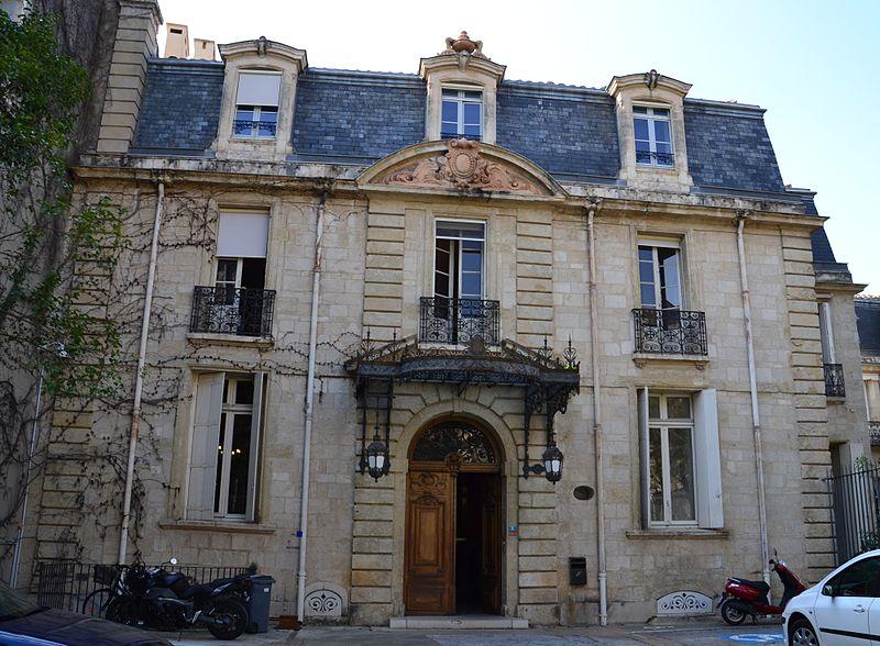 Photo du Monument Historique Hôtel de Grave, actuellement Direction régionale des Affaires culturelles de Languedoc-Roussillon situé à Montpellier