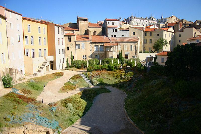 Photo du Monument Historique Amphithéâtre romain situé à Béziers