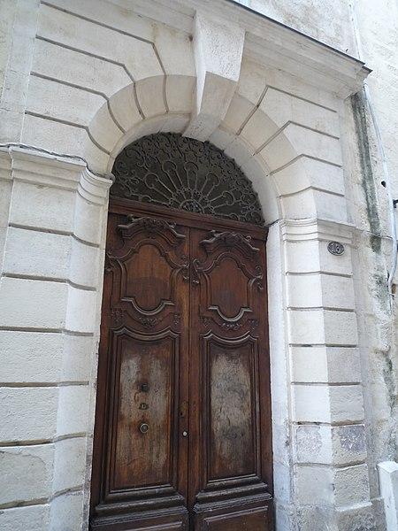 Photo du Monument Historique Ancien hôtel Lecourt situé à Montpellier