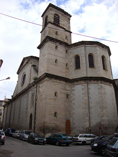 Photo du Monument Historique Eglise Saint-Pierre-aux-Liens situé à Lodève