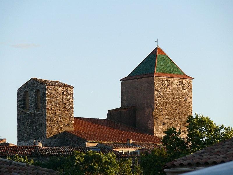 Photo du Monument Historique Eglise paroissiale Saint-Jean-Baptiste situé à Saint-Jean-de-Fos