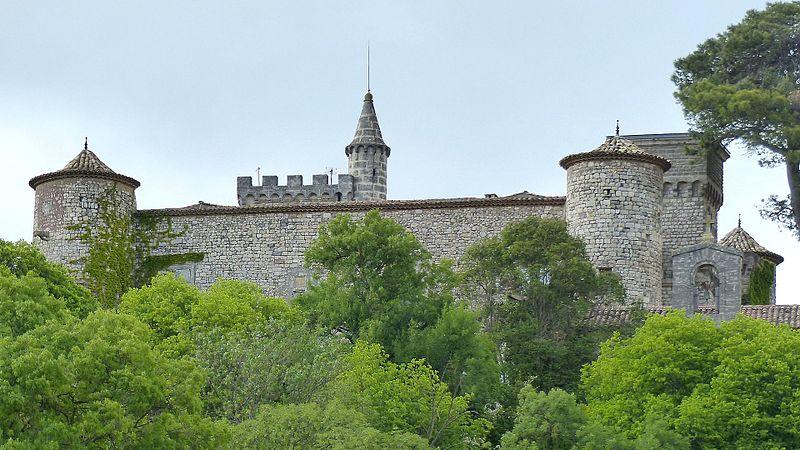Photo du Monument Historique Château de Montarnaud situé à Montarnaud