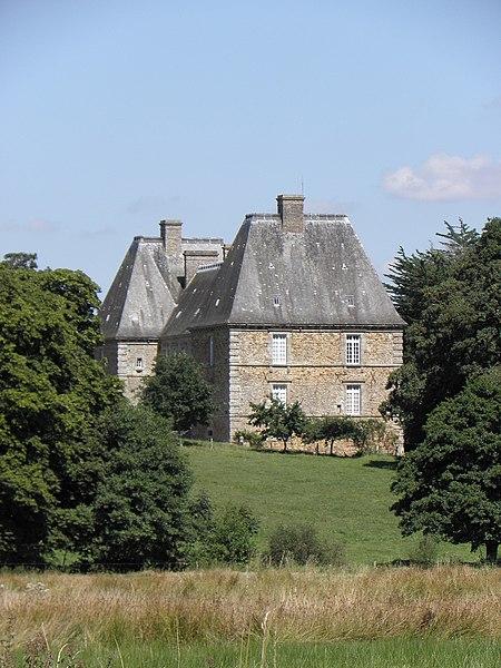 Photo du Monument Historique Château de la Magnanne situé à Andouillé-Neuville