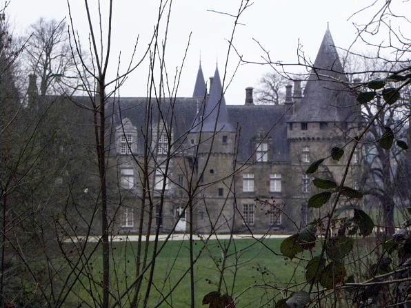 Photo du Monument Historique Château de Bonne-Fontaine situé à Antrain