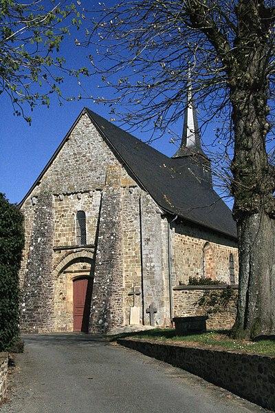 Photo du Monument Historique Eglise Notre-Dame de l'Assomption situé à Arbrissel