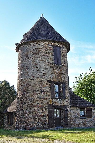 Photo du Monument Historique Moulin de Pommeniac situé à Bain-de-Bretagne
