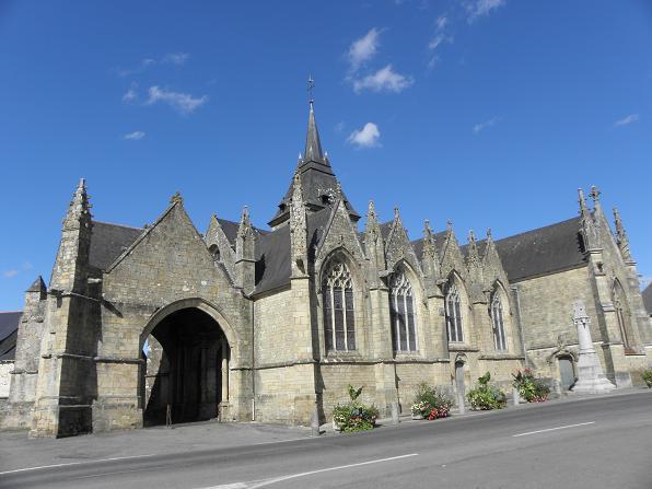 Photo du Monument Historique Eglise Saint-Marse situé à Bais