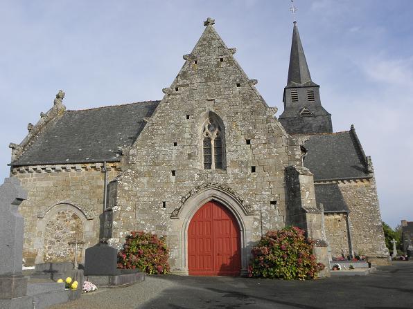 Photo du Monument Historique Eglise Saint-Léon situé à La Baussaine