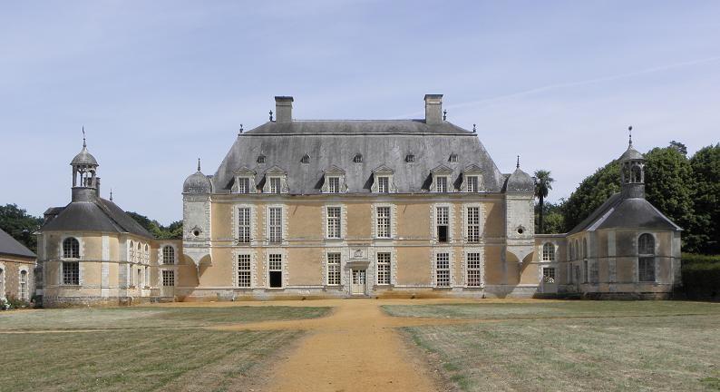 Photo du Monument Historique Château du Boschet situé à Bourg-des-Comptes
