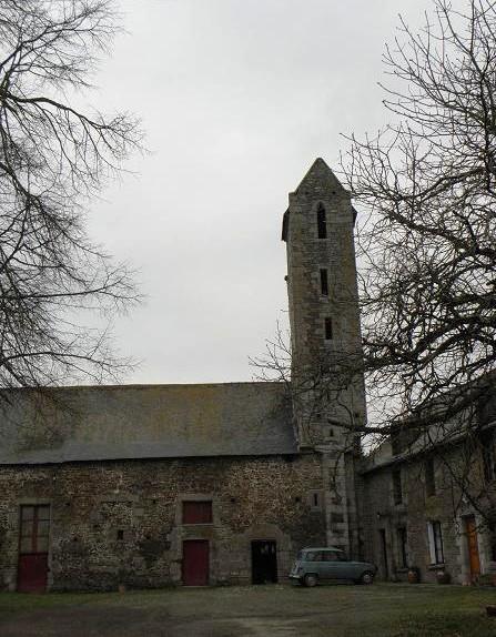 Photo du Monument Historique Prieuré de Bregain situé à La Boussac