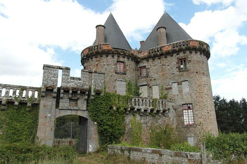 Photo du Monument Historique Château de Landal situé à Broualan
