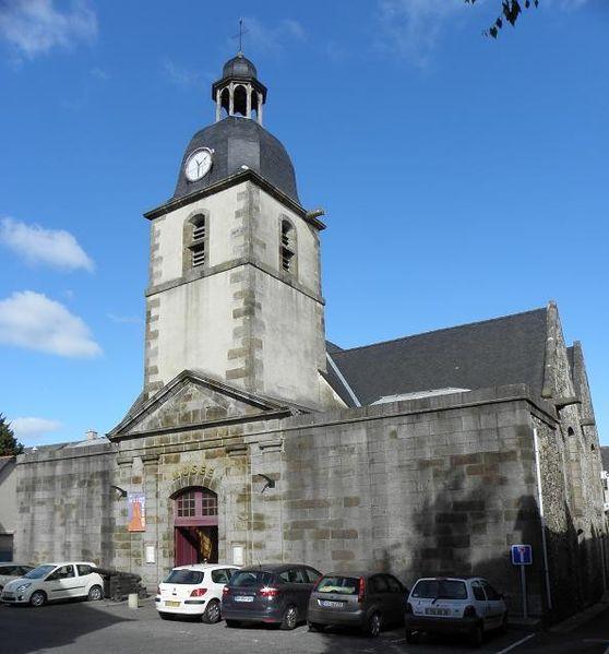 Photo du Monument Historique Ancienne église Saint-Méen situé à Cancale