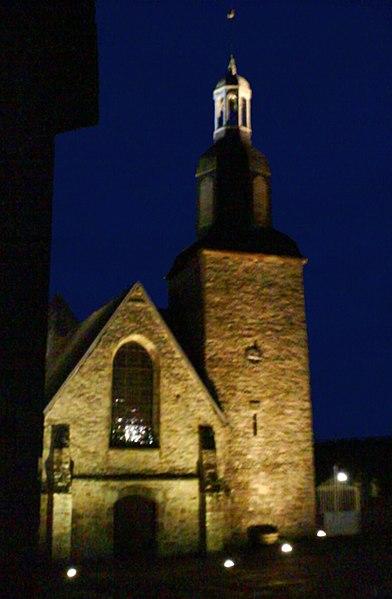 Photo du Monument Historique Ancienne collégiale, actuellement église Sainte-Marie-Madeleine situé à Champeaux