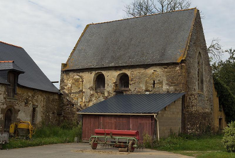 Photo du Monument Historique Château de Fontenay situé à Chartres-de-Bretagne