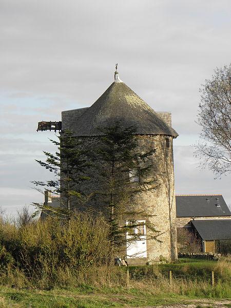 Photo du Monument Historique Moulin à vent numéro 2, dit de la Colinassière situé à Cherrueix