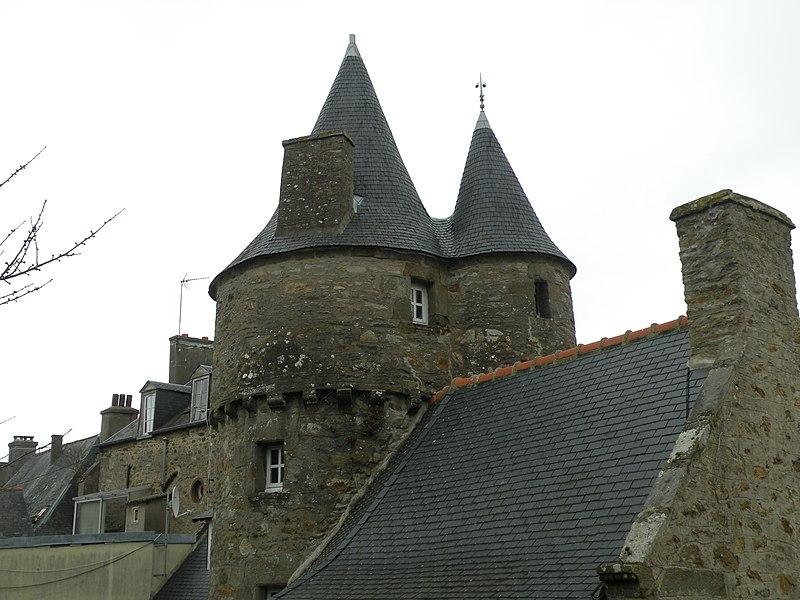 Photo du Monument Historique Maison dite du Prince Noir situé à Dinard
