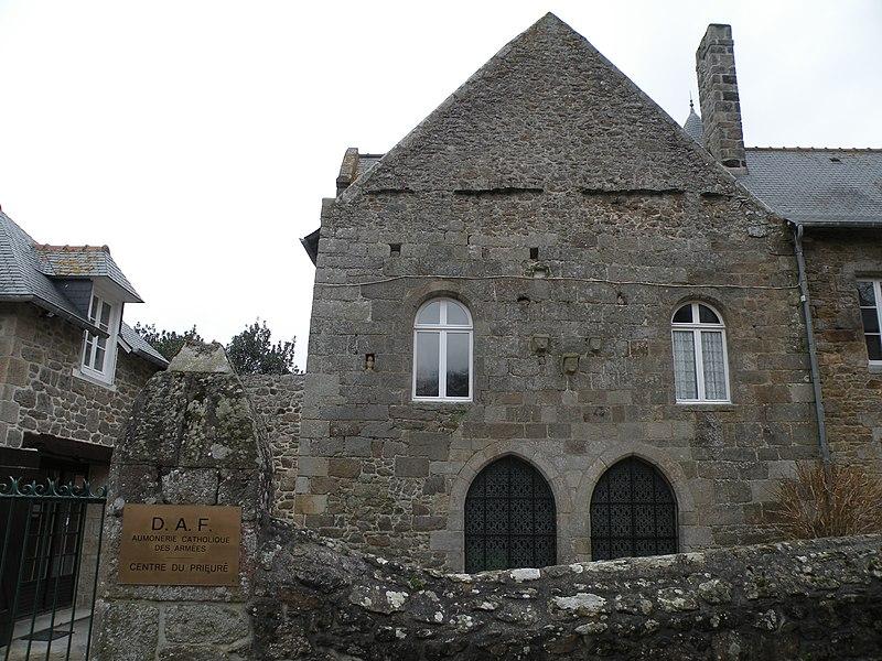 Photo du Monument Historique Ancien prieuré situé à Dinard