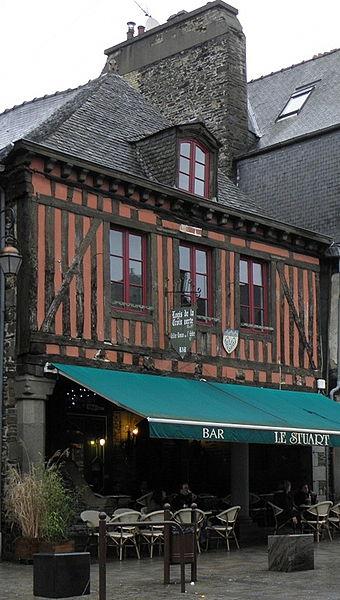 Photo du Monument Historique Maison situé à Dol-de-Bretagne