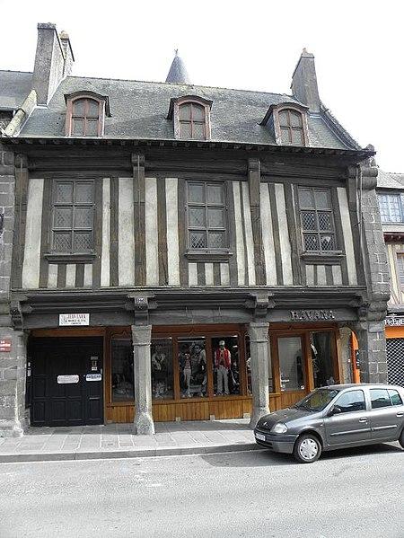 Photo du Monument Historique Maison dite La Guillotière situé à Dol-de-Bretagne
