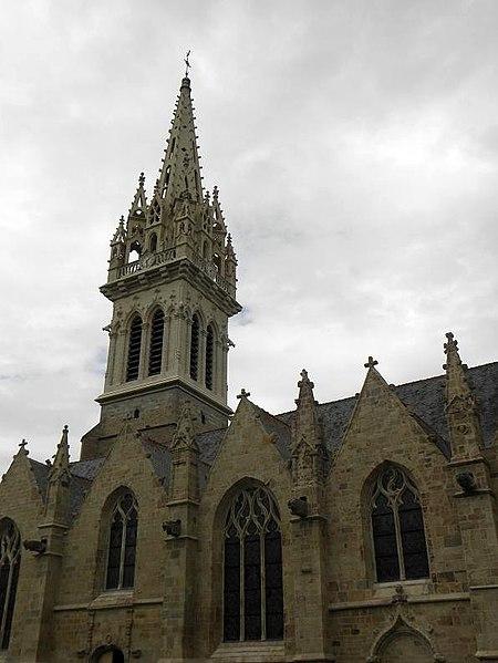 Photo du Monument Historique Eglise Saint-Melaine situé à Domalain