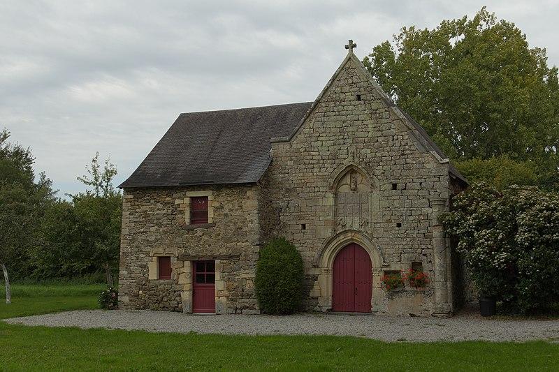 Photo du Monument Historique Chapelle Notre-Dame-de-la-Rivière, ou des Marais situé à Domloup