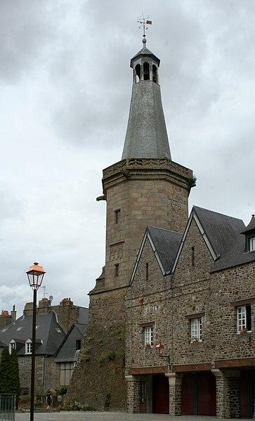 Photo du Monument Historique Beffroi situé à Fougères