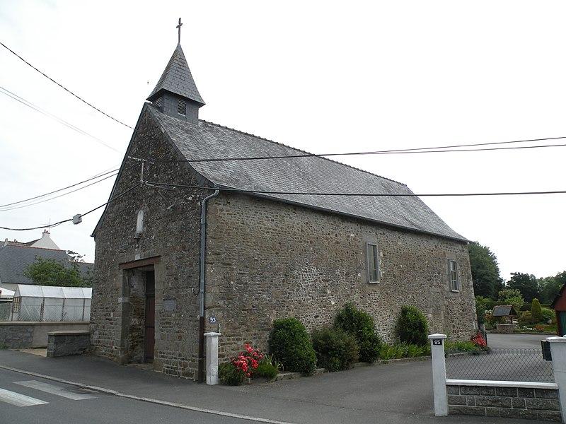 Photo du Monument Historique Chapelle Saint-Pierre-d'Iné situé à Fougères